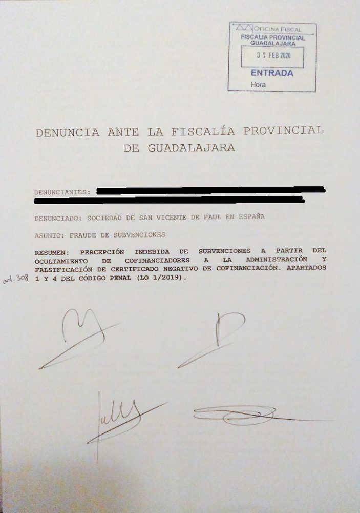 La Sociedad De San Vicente De Pal Habra Defraudado Ms De 41000 Euros Al -7363