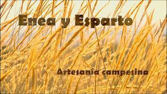 imagen de Enea y Esparto. Artesanía Campesina.