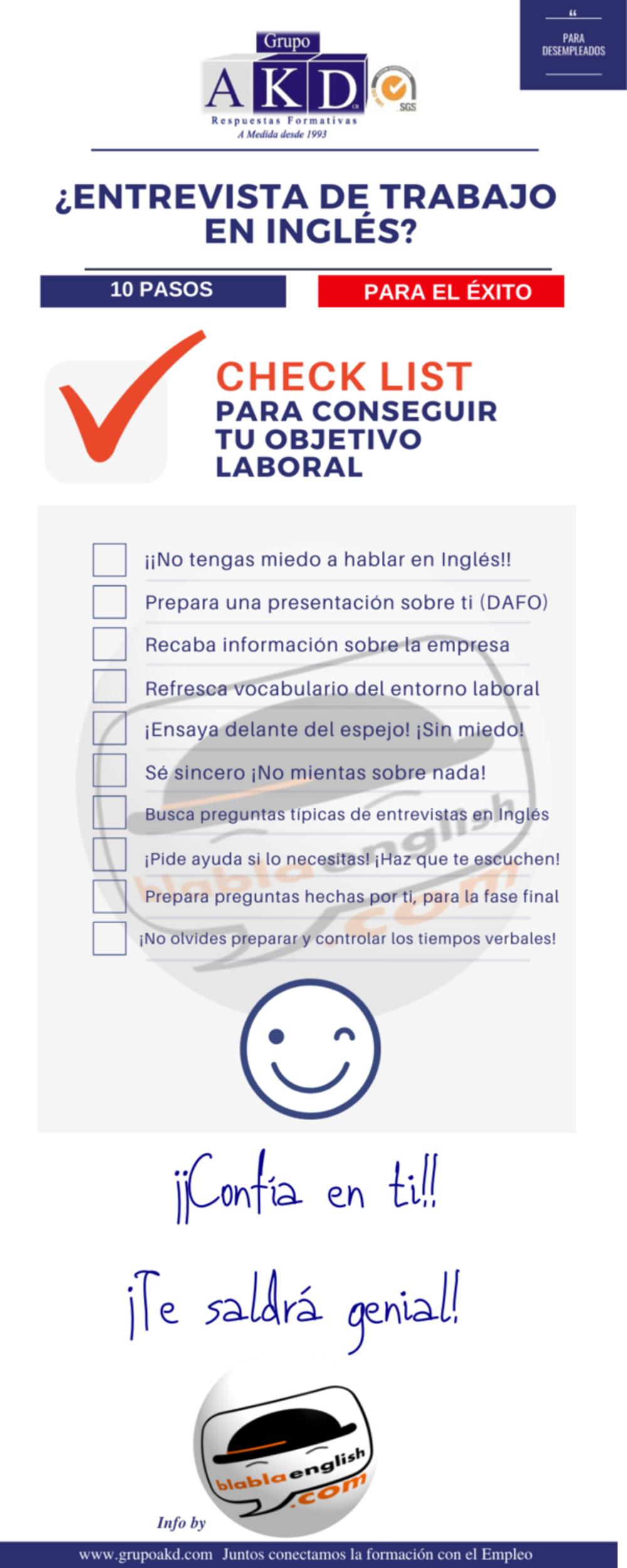 Entrevista en Inglés ¿10 claves para el éxito?