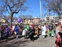 Domingo carnavalero en Miguelturra con la Máscara Callejera como protagonista