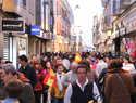 Buen tiempo y variedad de disfraces para ambientar con máscaras callejeras el sábado de Carnaval de Manzanares
