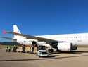 El aeropuerto de Ciudad Real recibe el primer vuelo del corredor aéreo sanitario entre China y España