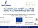 Cartel del proyecto de Plan de Empleo (Foto: José Luis Fuentes -OPPIDA) .