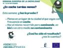 El Gobierno de Castilla-La Mancha invita a la ciudadanía a realizar desplazamientos a pie o bicicleta así como la utilización del transporte público