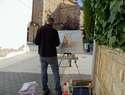 El Arte resurge en las calles de Quintanar gracias al IV Certamen de Pintura Rápida
