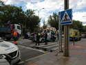 Herido un hombre tras colisionar un turismo con una motocicleta en la Ronda del Carmen de Ciudad Real
