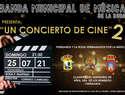 Presentado en La Roda un concierto de cine en un claustro de ensueño