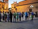 Los alumnos del curso expertos guías e intérpretes del proyecto 'Geoparque Volcanes de Calatrava. Ciudad Real' visitan el Geoparque de Villuercas-Ibores-Jara, en Extremadura