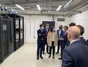 Alcázar inaugura un telepuerto, una instalación de alta tecnología de comunicaciones