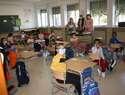 La nueva normalidad se impone en el inicio del curso escolar en Torralba de Calatrava