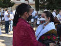 Ciudad Real retoma el nombramiento de su Pandorgo, Benito Puebla, y proclama a su Dulcinea, Gema María García del Castillo en una fiesta para todos