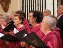 La procesión de Jueves Santo de Pastrana ha tenido lugar en el interior de la Colegiata