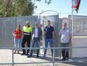 Jiménez visita las obras de mejora realizadas en los CEIP de Argamasilla de Alba y firma la recepción de las mismas