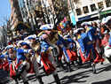 """""""El Burleta"""" consigue su 6º Arlequín de Oro  del Desfile del Domingo de Piñata de Ciudad Real"""