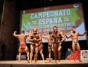 14 culturistas se clasifican en el Campeonato de España de Torrijos para ir al Miss & Mister Universo