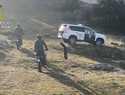Rescatado un hombre en Fuencaliente tras caer por un barranco de unos 50 metros mientras cogía espárragos