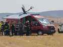 El Aeropuerto de Ciudad Real realiza un simulacro general de emergencia aérea