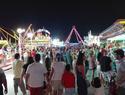 Imagen: Más de dos mil personas en el espectáculo pirotécnico fin de Feria y Fiestas