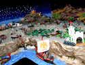 El Belén Playmobil más grande de la provincia de Toledo se expone en Argés