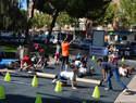 Casi un millar de alumnos de Ciudad Real disfrutan  del deporte por los parques de la capital