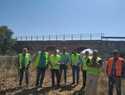 Comienzan las obras sobre el puente del Rio Cigüela en la carretera que une Herencia y  Manzanares