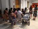 Alcázar dice adiós a las niñas y niños saharauis que han disfrutado del verano en la ciudad