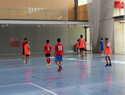El concejal de Deportes de Alcázar visita a los integrantes del V Clinic de Fútbol Sala