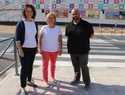 El Ayuntamiento de Alcázar mejora el acceso al centro de secundaria EFA Gamonal con un paso de peatones