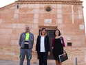 El deteriorado yeso de la ermita de San Blas de Manzanares se sustituirá por mortero