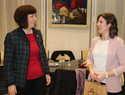 La alcaldesa de Alcázar recibió a la alumna premiada por el Consejo Social de la UNED por la excelencia en el curso académico