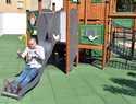 Abierto al público en Ciudad Real el parque de Manuel Marín en el antiguo patio del edificio de Sanidad