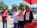 """Maestre pide votar al PSOE """"para seguir construyendo una Europa de progreso e igualdad frente a la destrucción que propone la extrema derecha"""""""