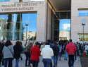 Cerca de 4.300 aspirantes se han examinado hoy en Ciudad Real para obtener plaza como personal de limpieza y servicios de la Junta de Comunidades