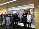 Ramos confía en que el traslado de 'aTempora' a Burgos redunde en el turismo de Talavera