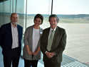 La Acaldesa de Ciudad Real se interesa por los proyectos de desarrollo del Aeropuerto Internacional de Ciudad Real