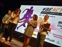 Miles de personas disfrutan en Ciudad Real  de las actividades de la #BeActive Night