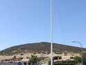 Desaparece la Bandera de España de la Plaza de la UME en Villamayor de Calatrava