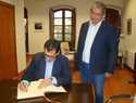 El delegado de la Junta atiende las peticiones y demandas del Ayuntamiento quintanareño