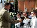 """El alcalde destaca la """"singularidad, particularidad y la identidad"""" que la procesión infantil de Lunes Santo, en la que participan más de 3.000 niños y niñas, aporta a la Semana Santa de Albacete"""