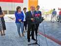 El nuevo pabellón multifuncional de Piedrabuena abre un nuevo espacio para impulsar el carácter participativo y la actividad deportiva de los vecinos