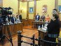 El Ayuntamiento de Valdepeñas aprueba unánime la bonificación  a una empresa por instalarse en el Parque Empresarial Entrecaminos