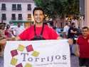 El atleta Christian López batió con creces en Torrijos sus cuatro récords Guiness propuestos