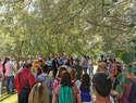 Más de un centenar de personas celebraron el Día de las Aves Migratorias con una visita a la Reserva Ornitológica Municipal