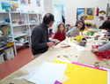 La artista japonesa Keiko Mataki, realiza en San Clemente actividades relacionadas con el proyecto internacional Wa no Wa.