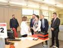 La ministra Magdalena Valerio inaugura la Oficina Integral de la Seguridad Social en Azuqueca