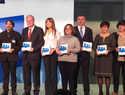 """El ayuntamiento de Ciudad Real recoge las tres """"Pajaritas Azules""""  que distinguen el trabajo en la recogida selectiva  de papel y cartón"""