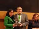 La ganadera de ASAJA Toledo, Carolina Fernández, recibe el premio mujer agro 2018