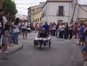 imagen de David López, de Sonseca, se alza con el primer premio en la IX Carrera de Autos Locos