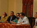 Acto oficial de recepción de los grupos participantes del Festival Internacional de Folklore de Ciudad Real