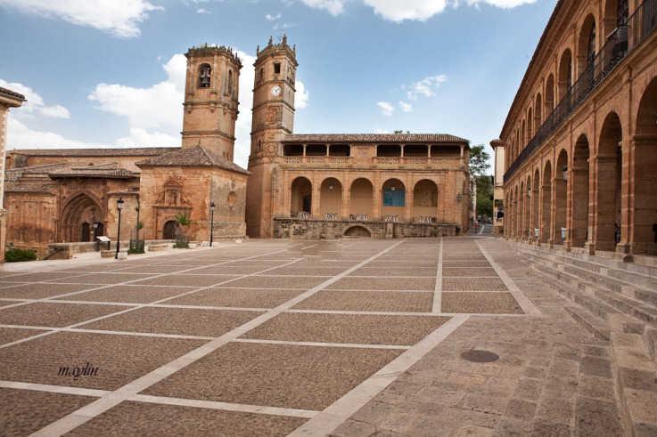 Plaza Mayor de Alcaraz | Objetivo Castilla-La Mancha Noticias
